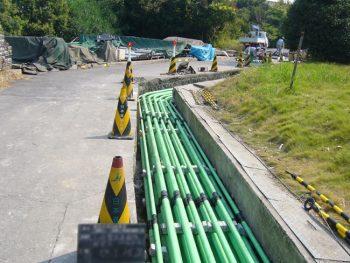 電気設備 配管工事  作業風景