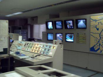保守点検監視業務および巡回業務  作業風景
